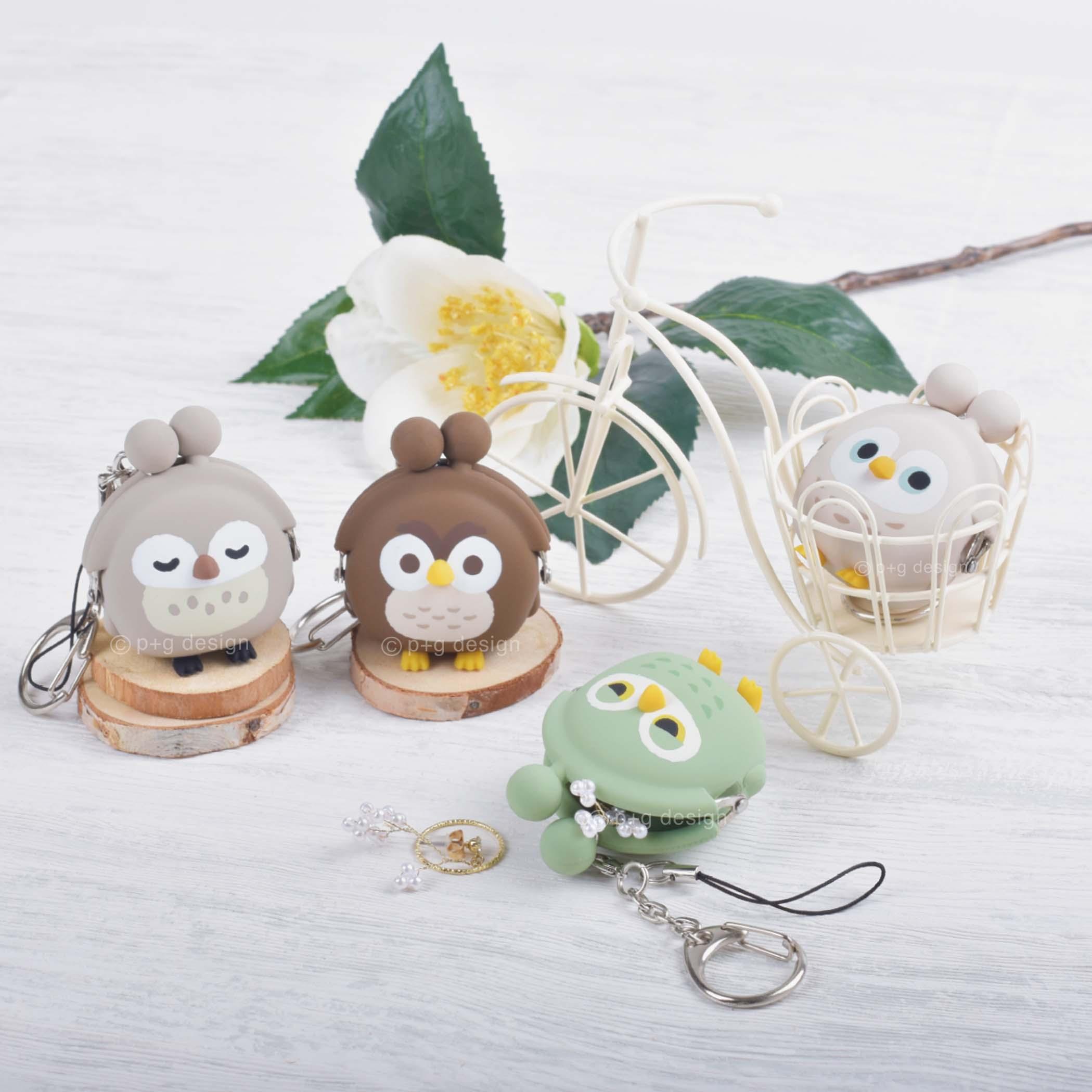3D POCHI-Bit FRIENDS BIRD OWL