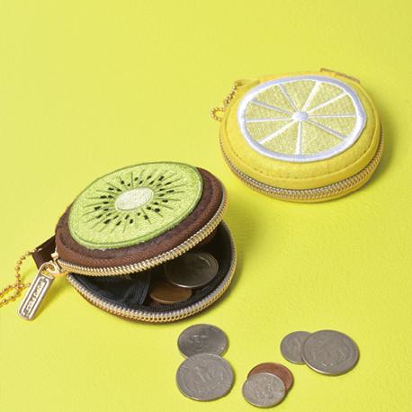 coin case (fruits)