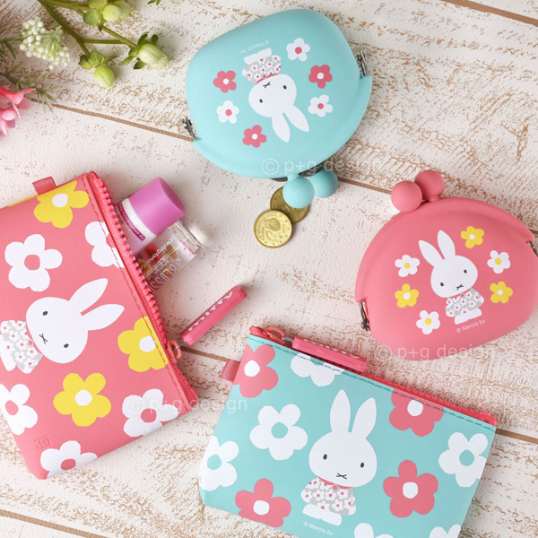 POCHI miffy spring flower / NUU-small miffy spring flower
